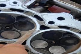 发动机缸盖裂缝