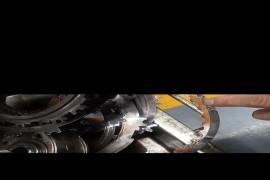 水箱沙粒漏水进变速箱内,导致变速箱内损坏