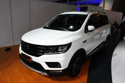 2017上海车展:斯威X3 小型SUV亮相