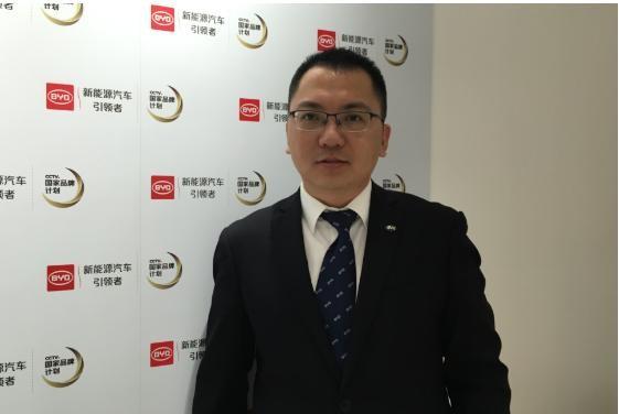 2017上海车展:专访比亚迪总经理助理杜国忠