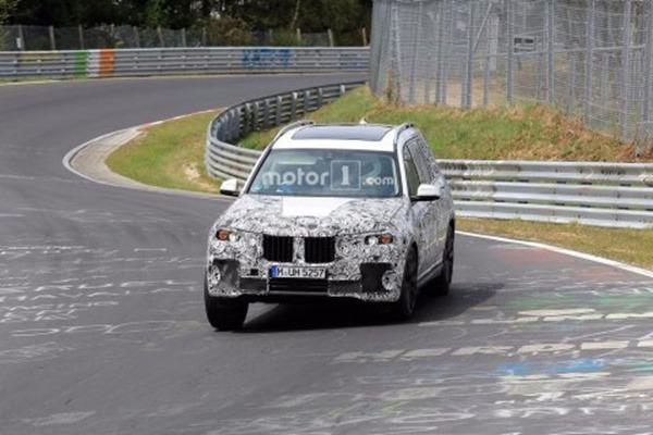 宝马X7概念车或将于9月份亮相 7座SUV