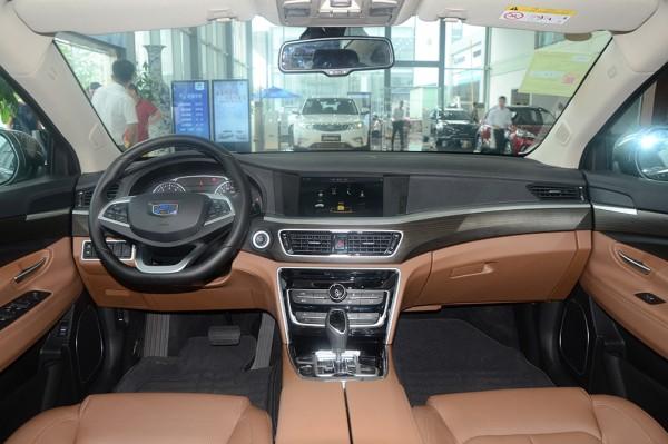 吉利博瑞新车型上市 售14.48-15.48万元