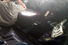 长安标致雪铁龙DS4S新车空调蒸发器漏水