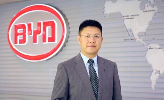 比亚迪销售换将 赵长江接替舒酉星执掌销售大权