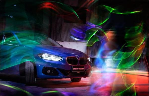 """玩的就是心跳万圣节与新BMW 118i 一起""""混"""""""