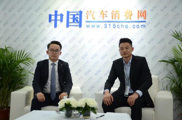2017广州车展:访海马汽车黄正华