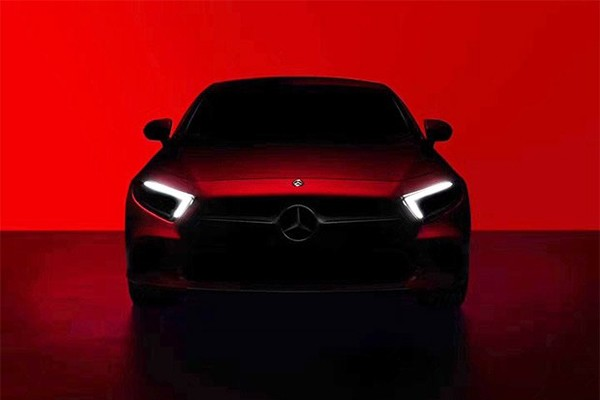 奔驰新一代CLS预告图发布 运动轿跑车