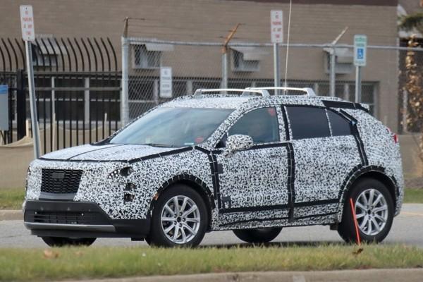 凯迪拉克XT4最新谍照 全新紧凑型SUV
