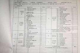 东风柳州汽车有限公司景逸1.5XL整车出厂配置轮毂及轮胎不及格