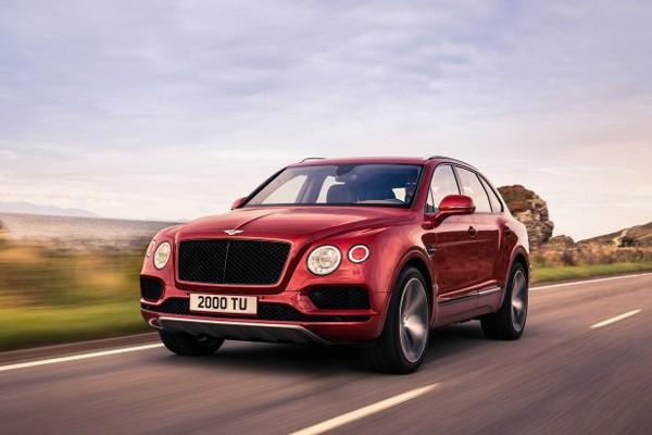 宾利添越V8汽油版官图发布 年内上市