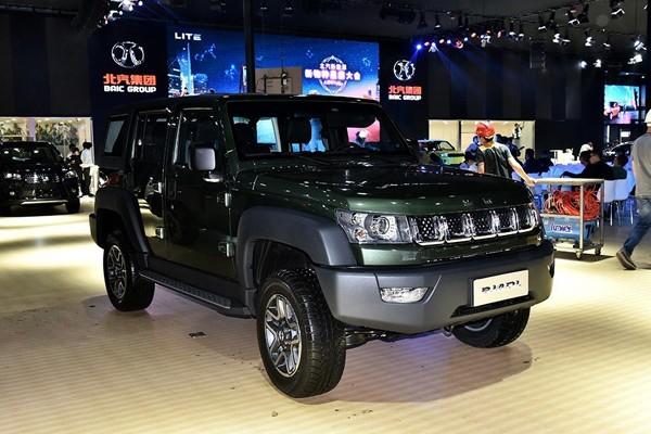 北京BJ40柴油版正式上市 售15.99万元