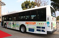日本高等学府研发纯电动巴士 日产提供技术支持