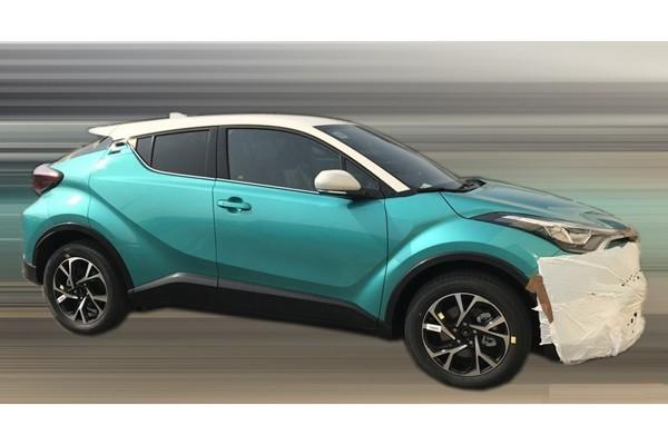 广汽丰田C-HR实车图曝光 与海外版一致