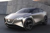 日产IMx Kuro零排放概念车亮相日内瓦车展 B2V及ProPilot惹眼