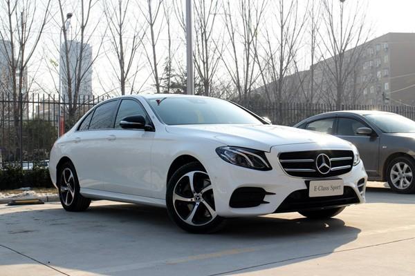 新款奔驰E级长轴版上市 43.88-63.48万
