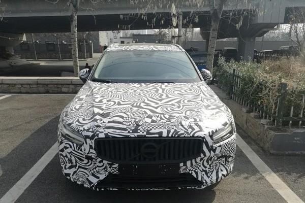 新一代沃尔沃V60国内谍照 跨界旅行车
