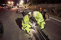 瑞典开通世界第一条充电道路 车辆边充边跑