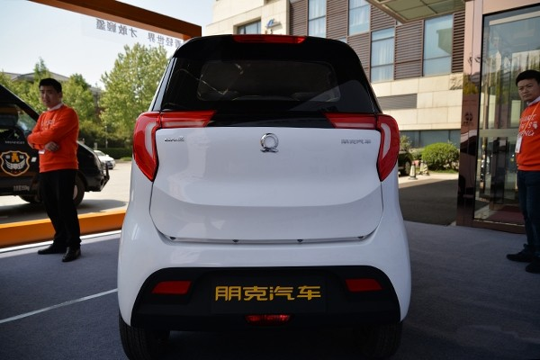 行业新物种 朋克汽车两款纯电动车亮相