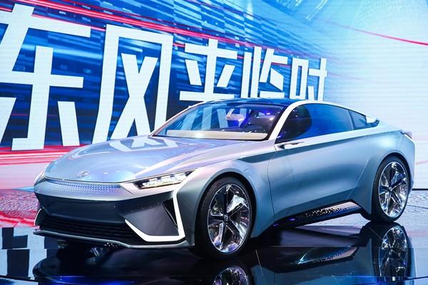 东风e.π概念车发布 多品牌将整合统一