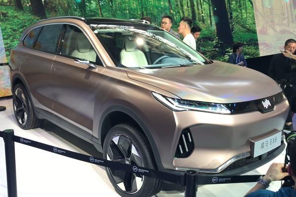 6座中型SUV 威马EX6将于2019年9月上市