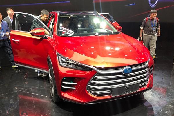 2018北京车展:新唐DM补贴后预售25-30万