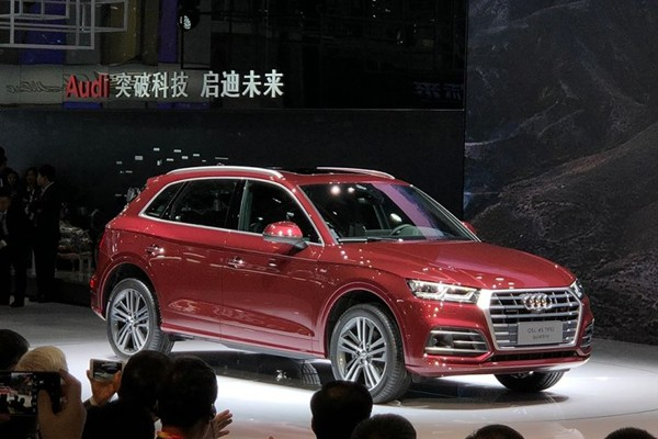 2018北京车展:国产奥迪Q5L正式亮相