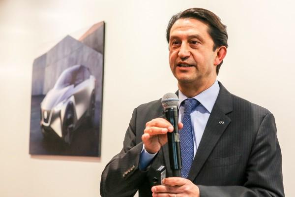 2018北京车展:访日产汽车首席绩效官何塞·穆诺兹