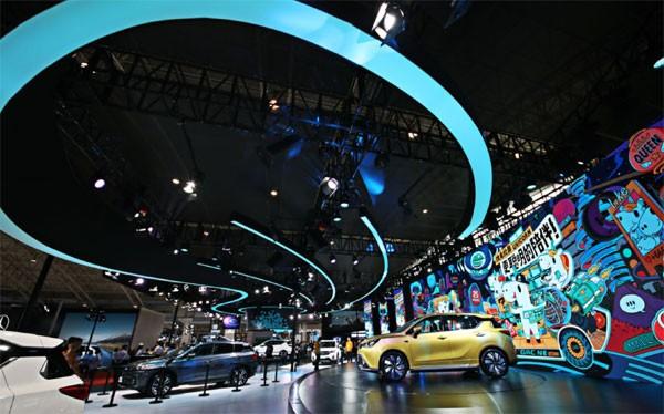 广汽新能源全新品牌口号北京车展震撼发布