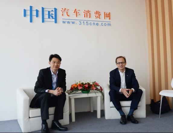 2018北京车展:专访长安PSA总裁莫奈