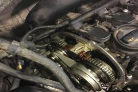 发动机12万公里,烧机油,跳齿,发动机报废