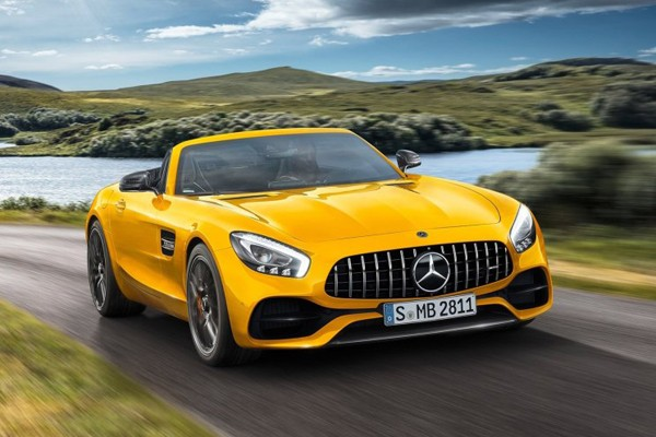 AMG GT S Roadster官图 4.0T/522马力