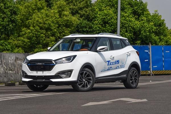 众泰T300 EV上市 补贴后售9.18-10.98万
