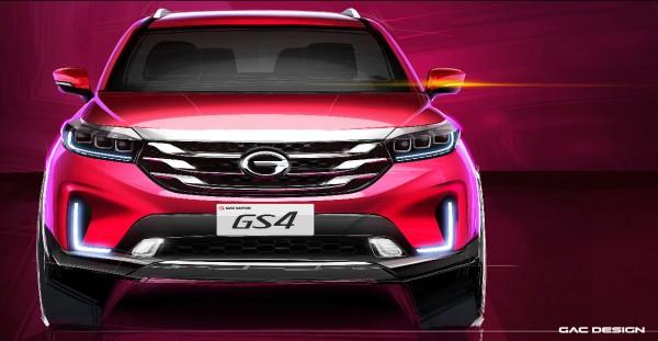 新款传祺GS4将于6月份上市 配LED灯组