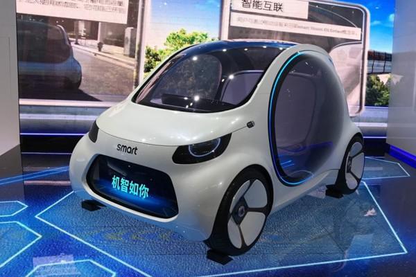 未来的共享汽车 smart新概念车国内首发