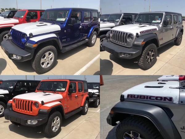 Jeep全新牧马人实车到港 将于7月份上市