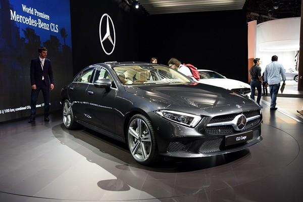 奔驰CLS新车型上市 售64.88-70.88万元