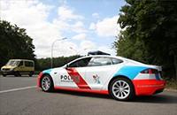 卢森堡警方购特斯拉Model S助力追贼、减排