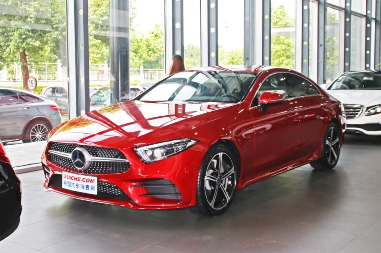 奔驰新款CLS级上市 售63.78-78.98万元