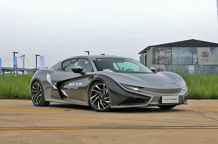 前途K50电动跑车在美开启预售 12.35万美元起售