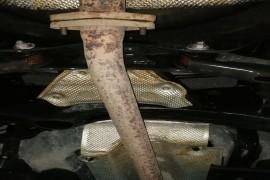 排气管锈蚀非常厉害