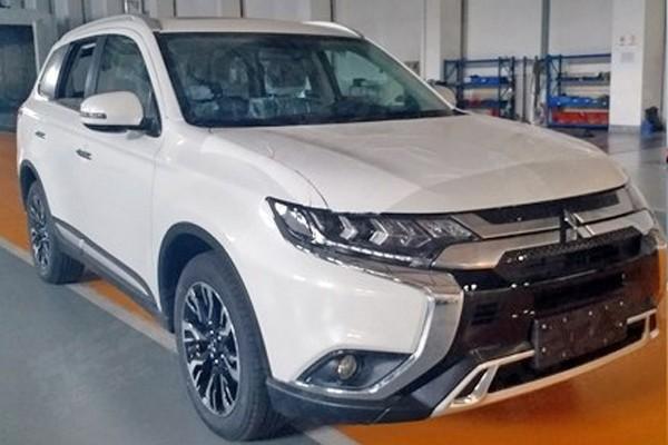广汽三菱新款欧蓝德申报图 细节更精致