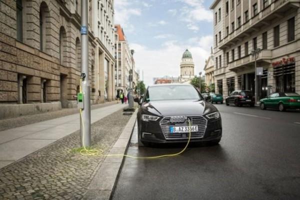 西门子联合Ubitricity将路灯改成充电桩