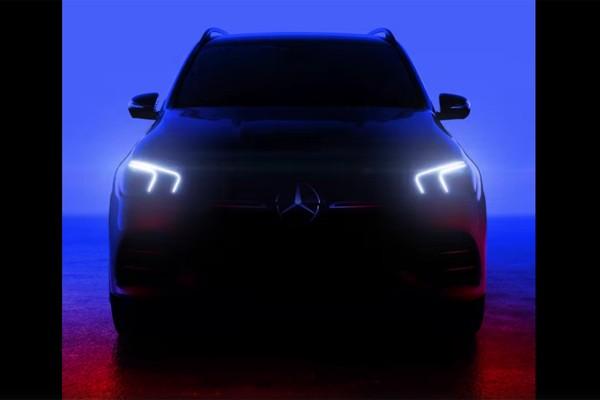 奔驰全新GLE预告图曝光 配直列六缸引擎