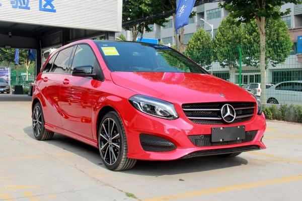 新款奔驰B级正式上市 售22.58-33.98万