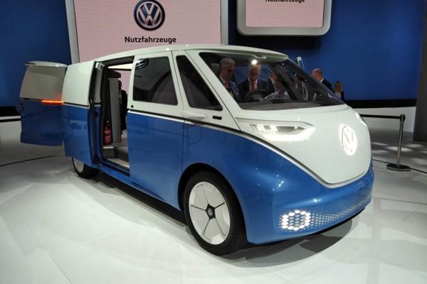 大眾I.D. Buzz Cargo概念車全球首發