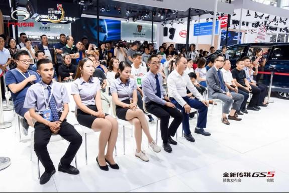 全新傳祺GS5領銜,廣汽傳祺全明星陣容亮相全國各地車展