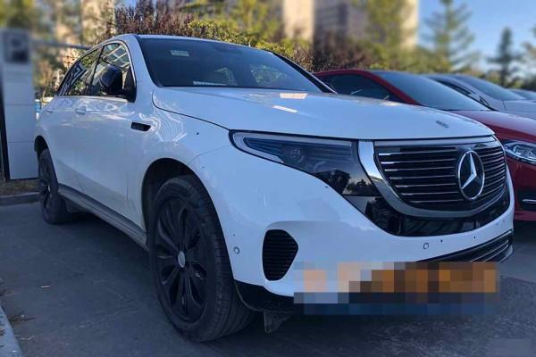 曝奔驰EQC国内实车 年底投产/明年发售