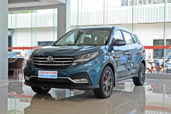 东风风光580新车型上市 售7.89-12.30万