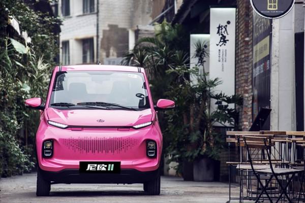 纯电动微型车 长安欧尚尼欧Ⅱ正式亮相