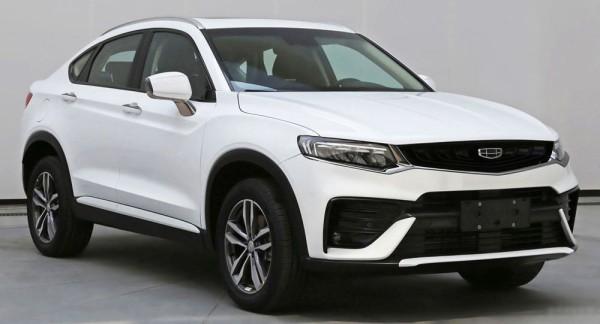 配1.5T插混系统 吉利新轿跑SUV申报图
